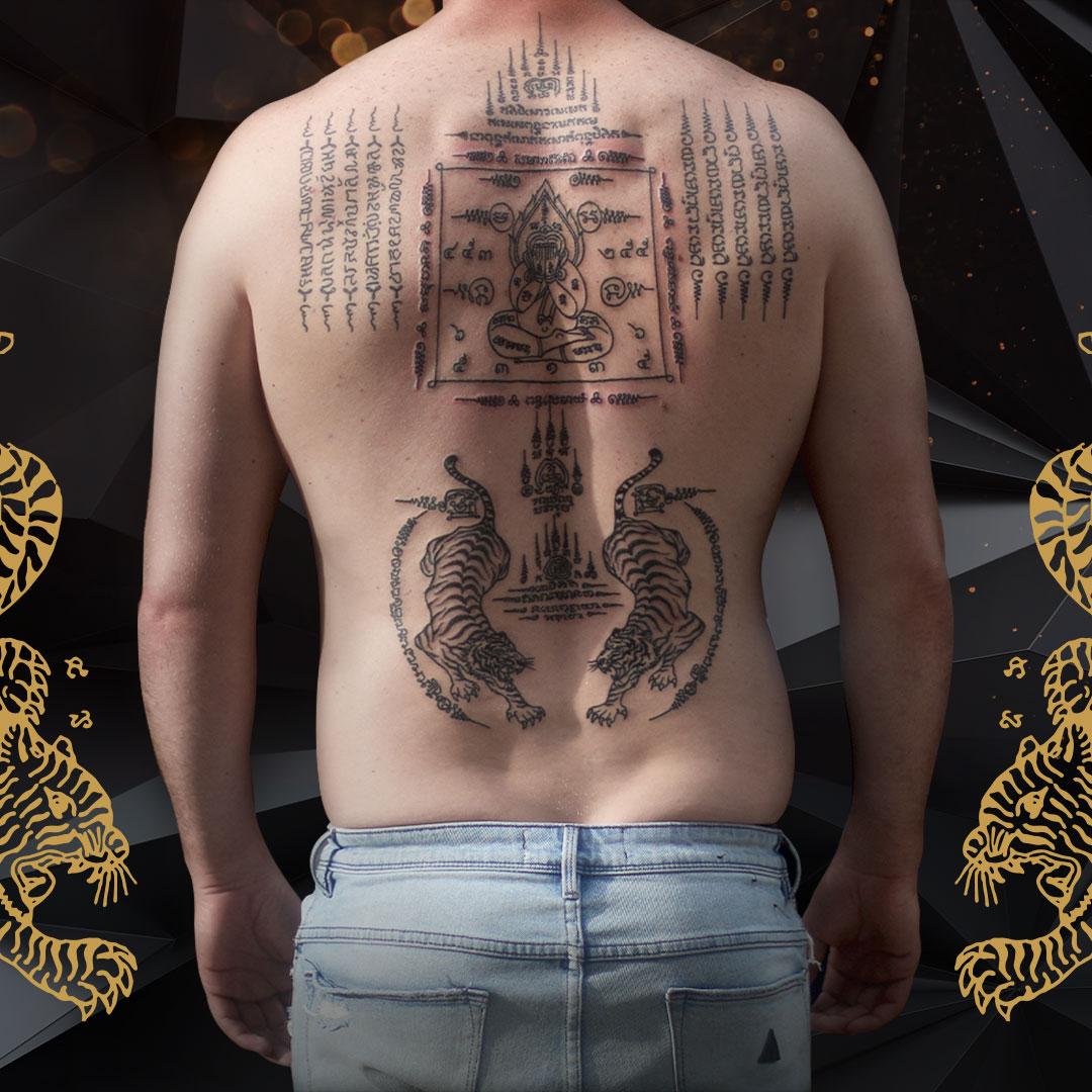 Thai buddhist tattoos traditional 175 Buddha