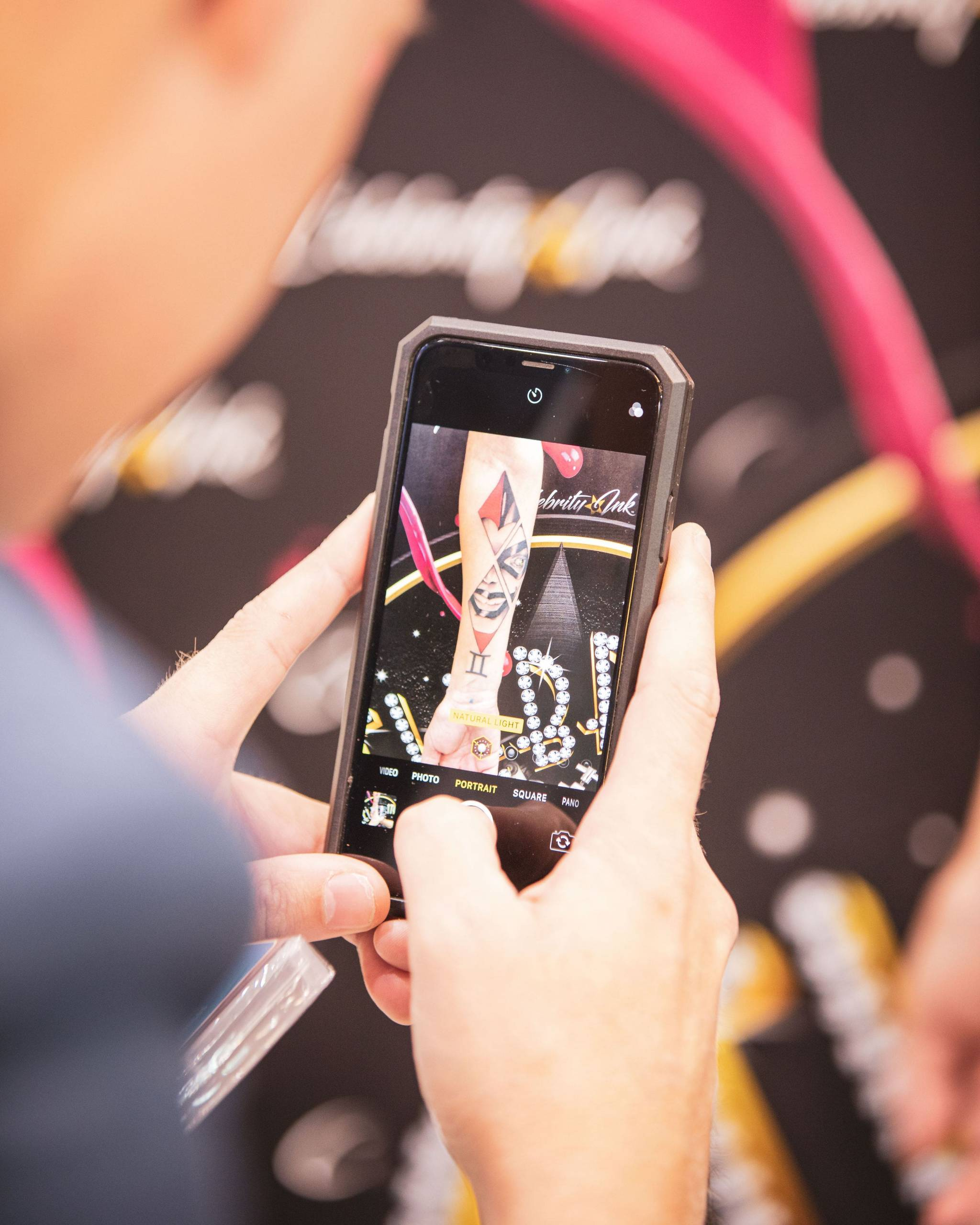 augmented reality tattoos celebrity ink mobile