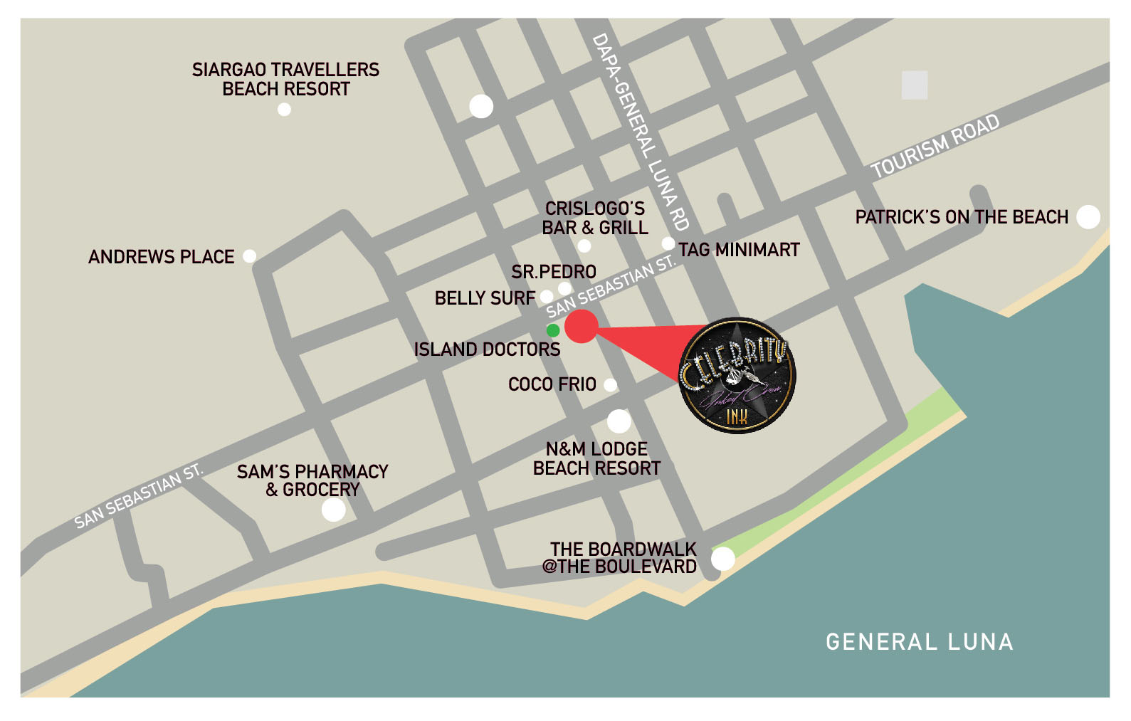 CIN 0064 CelebrityInk Siargao Map AW3