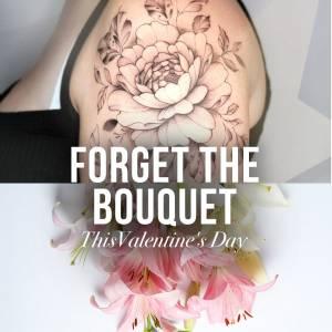 flower tattoo lily