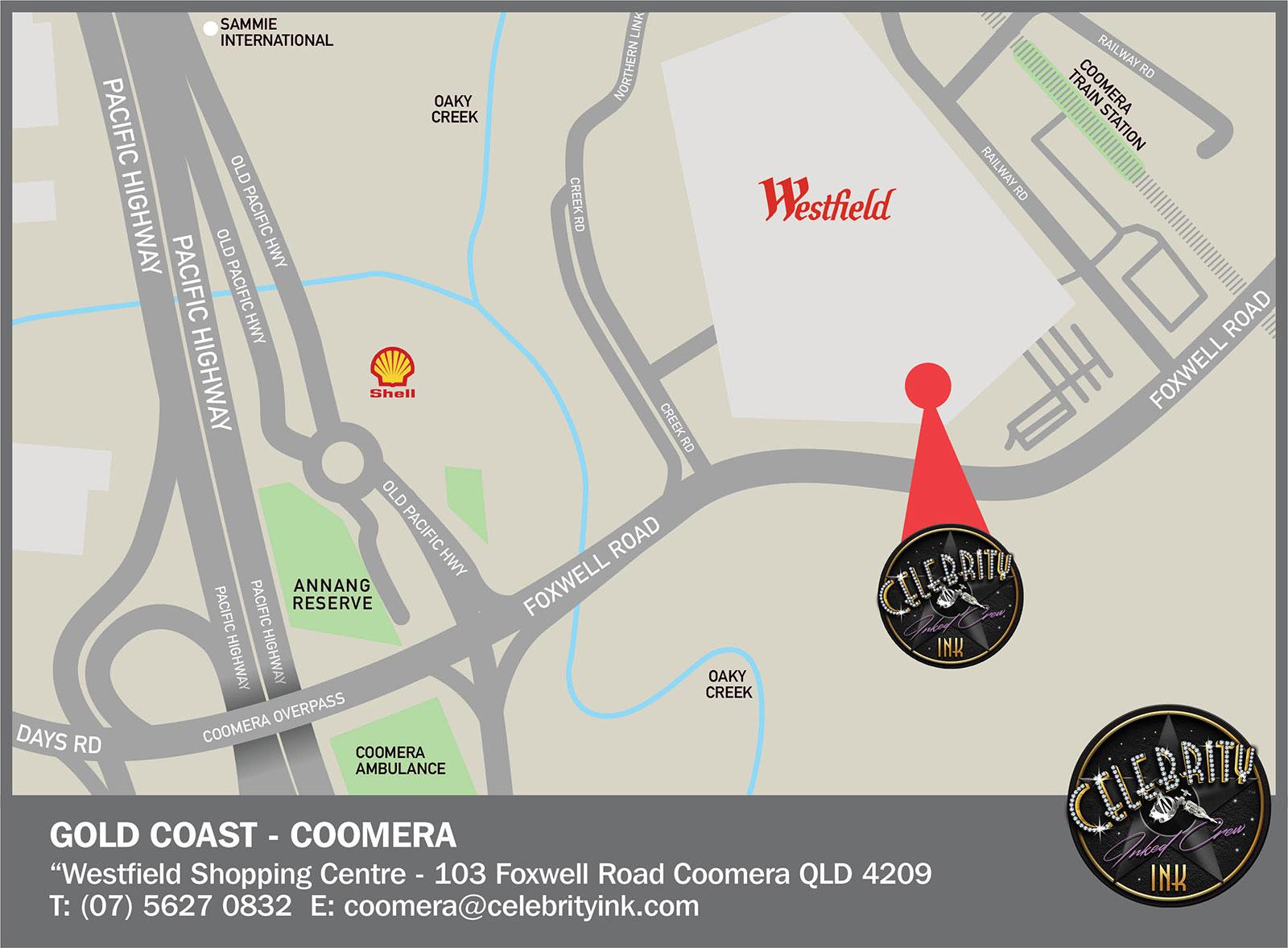 CelebrityInk MapsAddress 2019 COOMERA 1600px