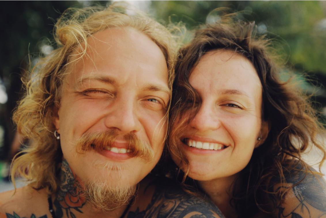 piercings couple man woman tattoos celebrity ink