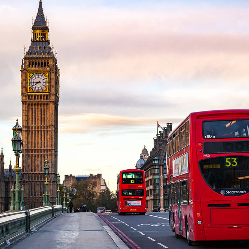 Location England London